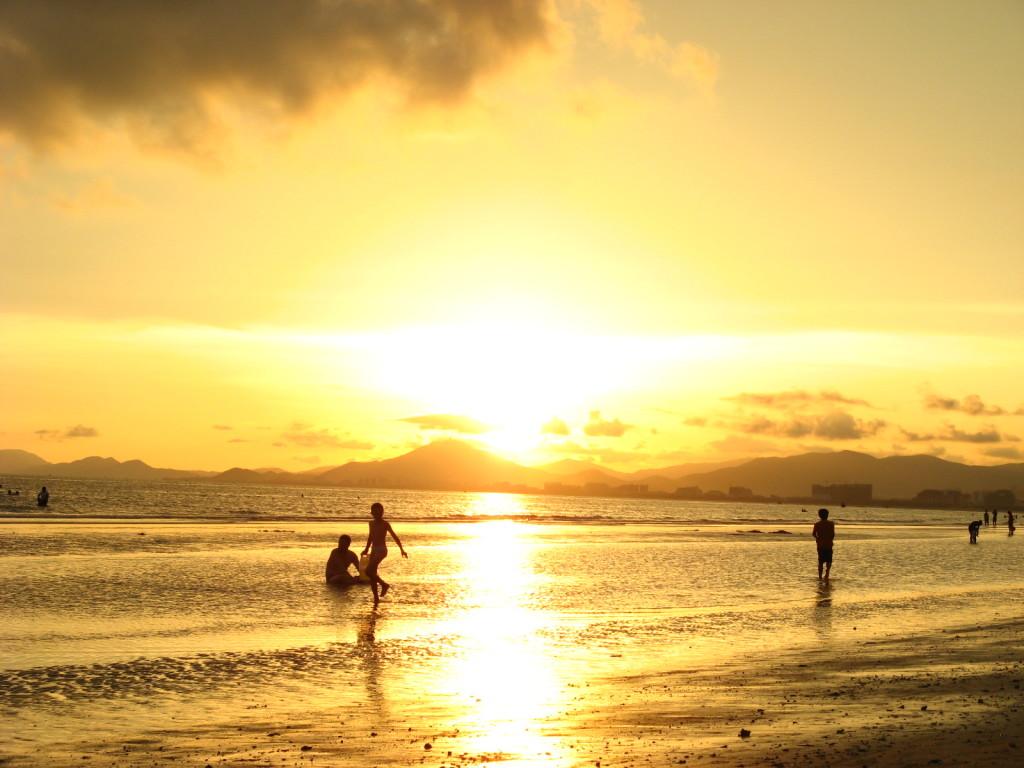 Sanya Bay Sunset-1024x768