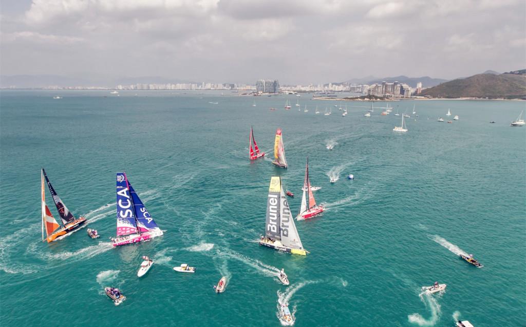 Volvo Ocean Race Sanya Stop Over 2014-2015