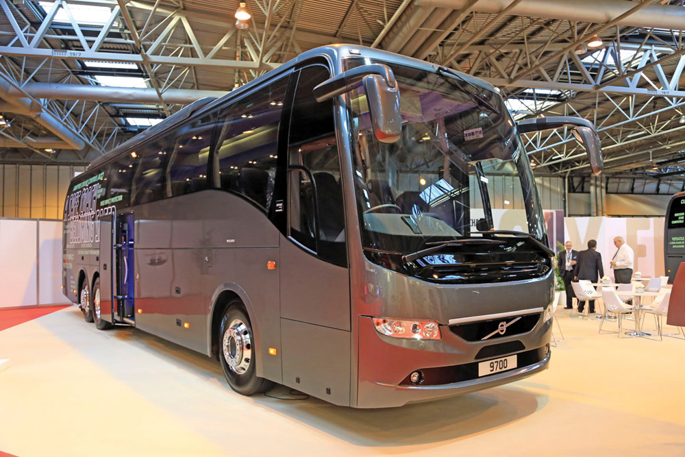Day Rental VOLVO Bus for 45