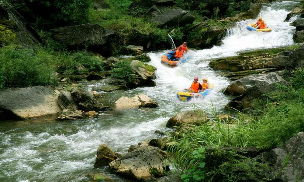 wuzhishan river rafting