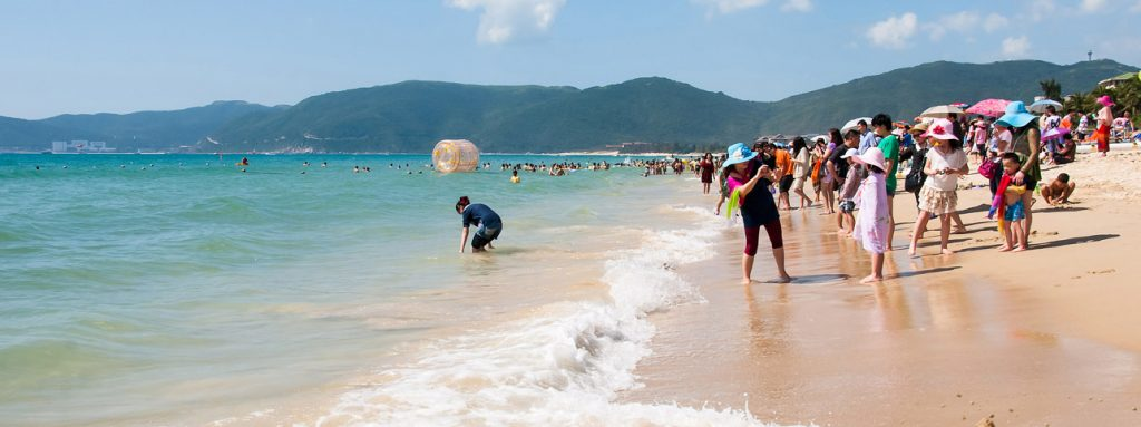 Half Day Tour to Sanya Yalong Bay Beach with Visit to Local Market Sanya Hainan Island