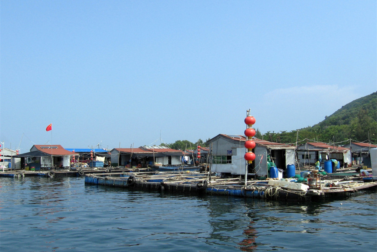 Fishing Village Lingshui Hainan