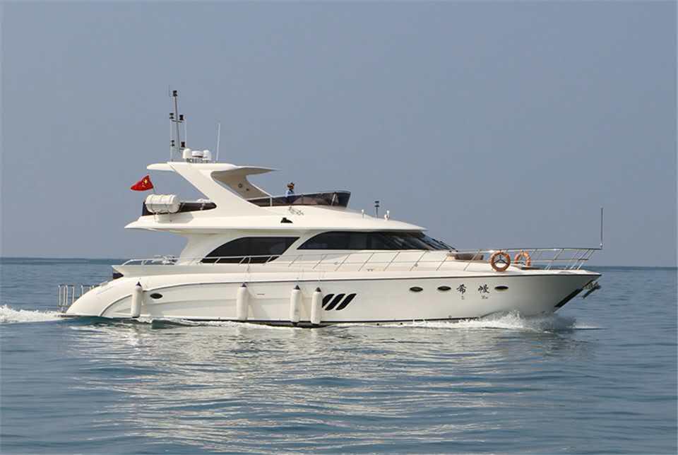 Group tour by Yangfan Yacht1