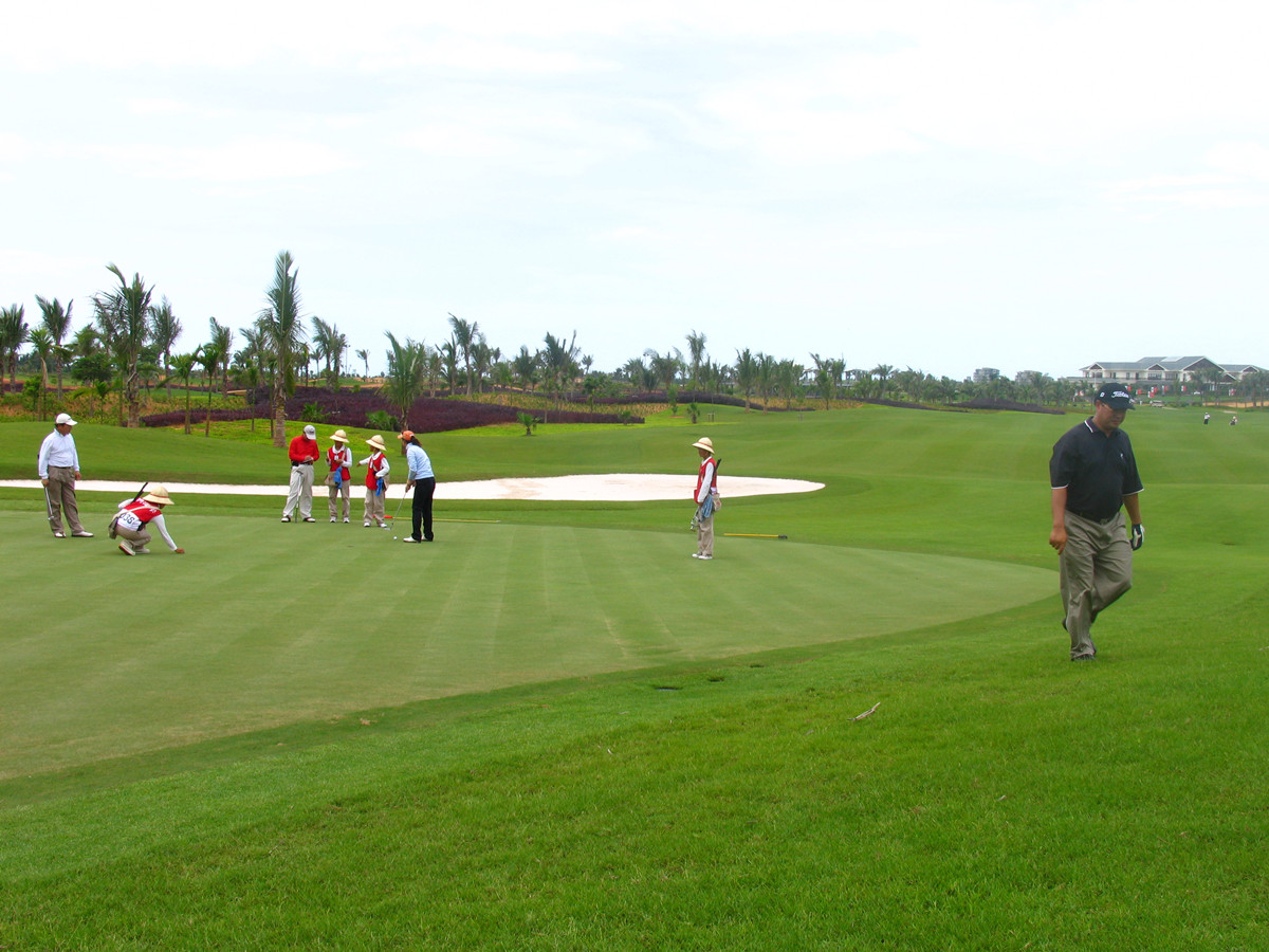 Haikou Western Coast Golf Club Hainan Island2