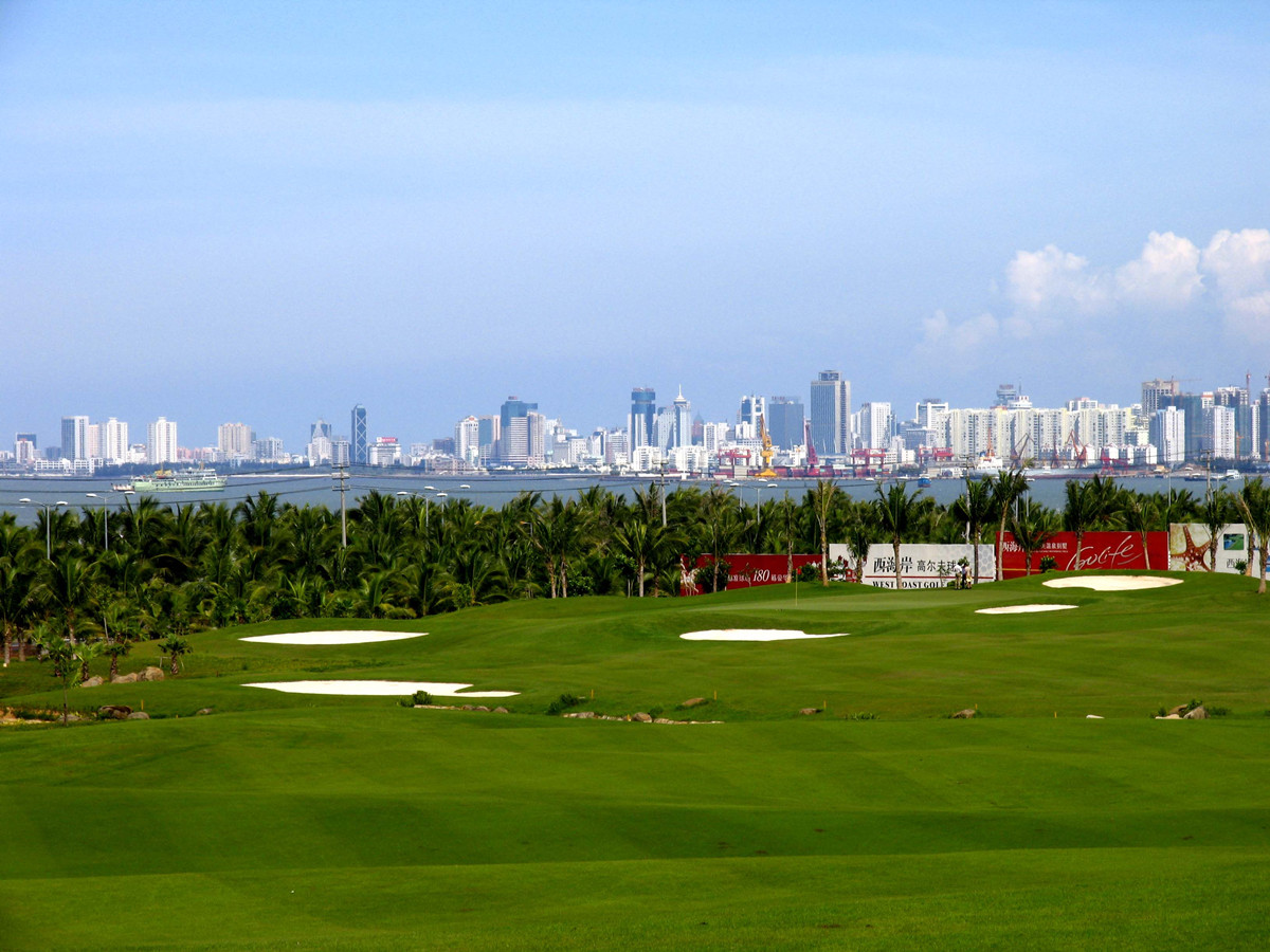 Haikou Western Coast Golf Club Hainan Island3