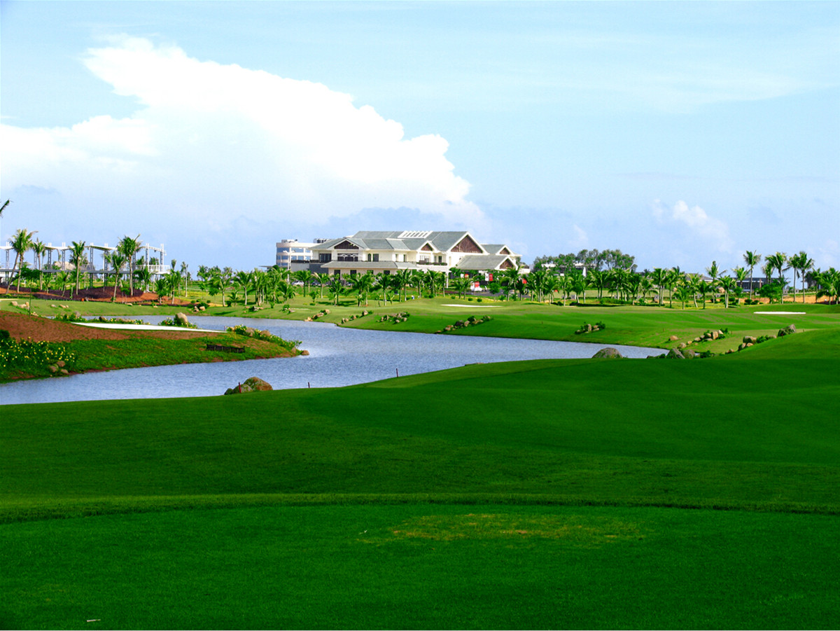 West Coast Golf Club Haikou Hainan Island
