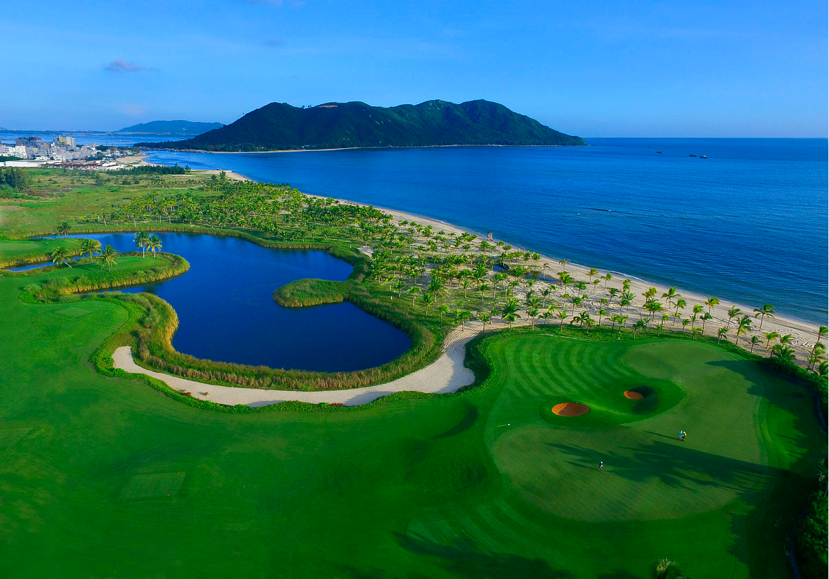 Jian Lake Blue Bay Golf Club Lingshui Hainan3