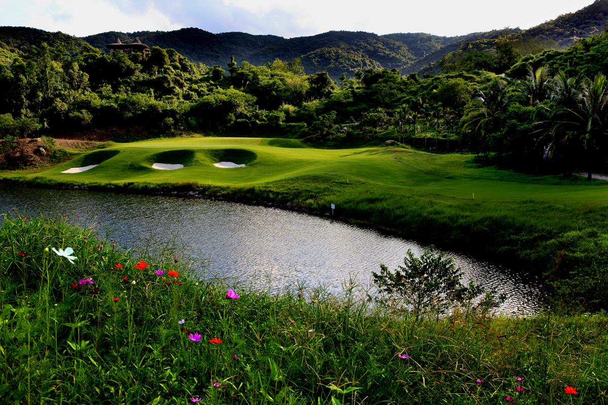 Mystic Springs Golf Club Sanya Hainan Island