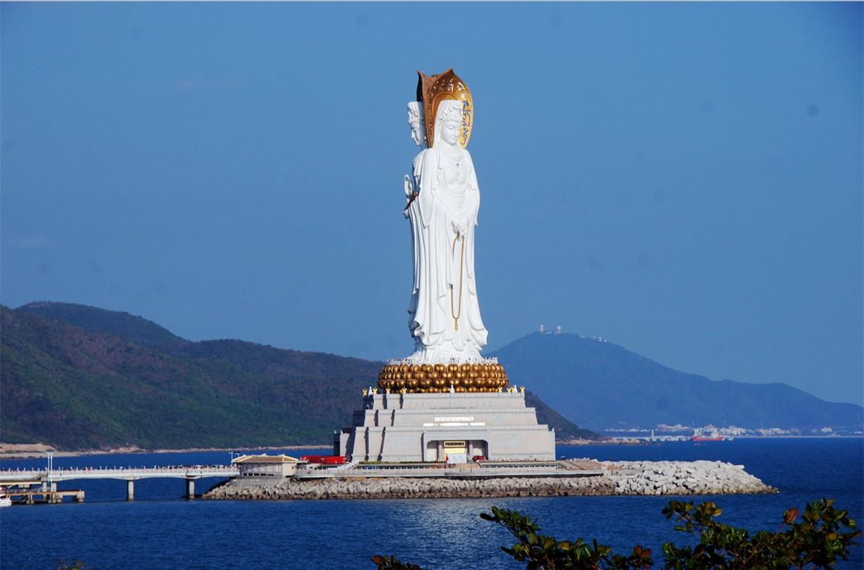 Nanshan Buddhism Culture Park/Nanhai Guanyin & Luhuitou Park Sanya Hainan Island