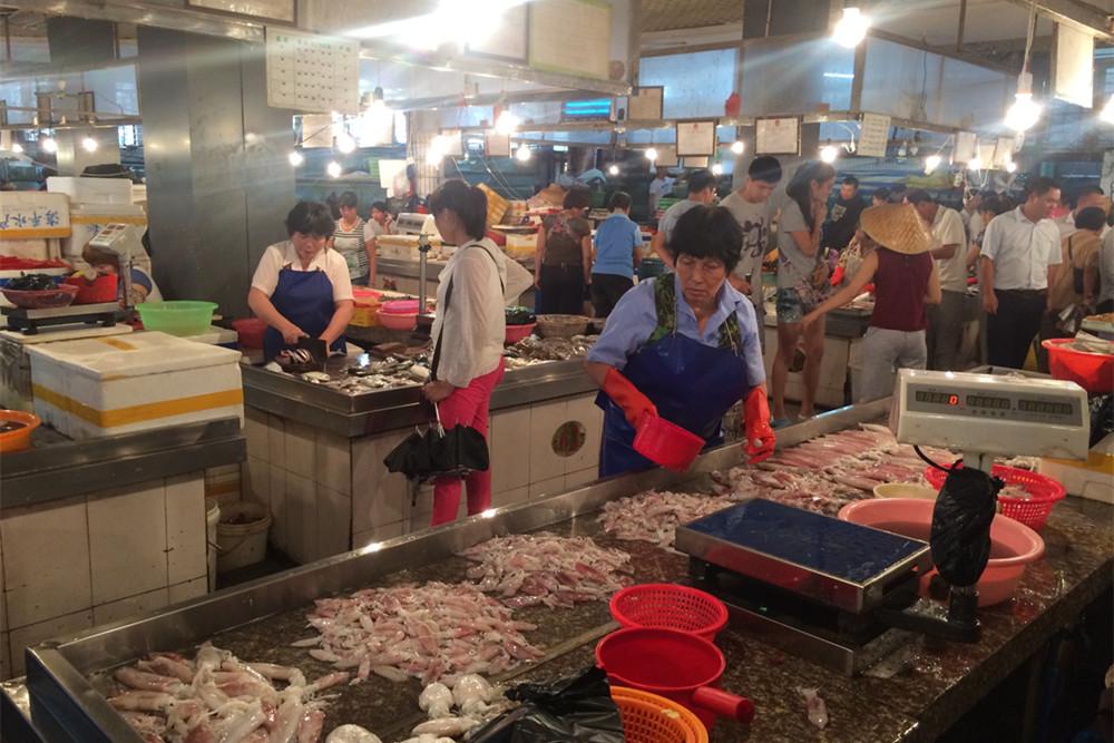 sanya local market