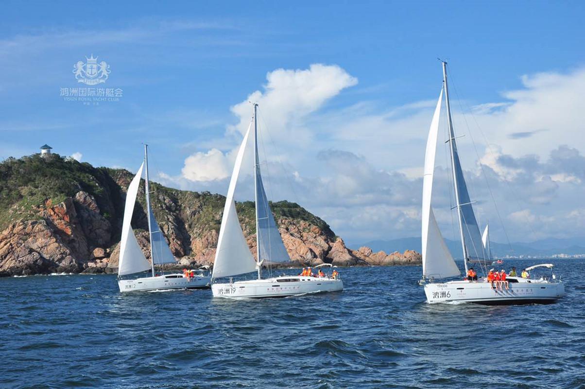 Visun Beneteau Oceanis Sail Boat Sanya Hainan Island7