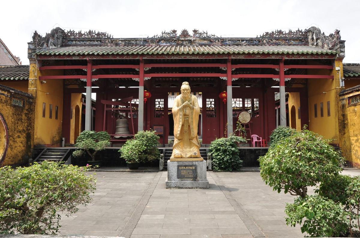 Wenchang Confusions Temple Hainan Island