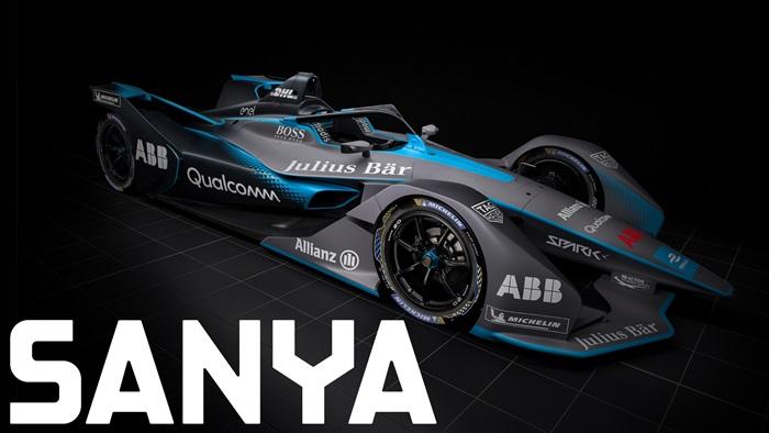 ABB FIA Formula E Championship in Sanya Hainan
